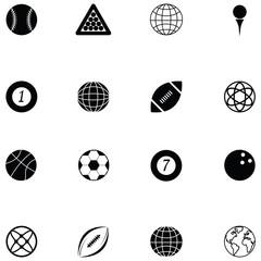 ball icon set