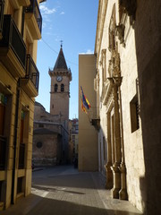 Villena.Pueblo de Alicante. Comunidad Valenciana, España
