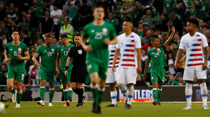 International Friendly - Republic of Ireland vs USA