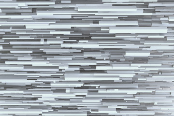 Abstract sci-fi gray 3d geometric background texture design pattern from horizontal boxes.
