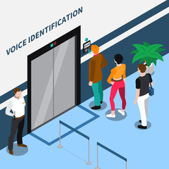 Access Identification Isometric Composition