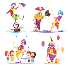 Clowns Design Concept
