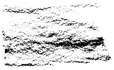 Vector Grunge Ink And Coal Dash Texture On Paper