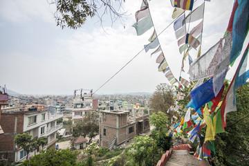 Nepal, Kathmandu - Aussicht vom Monkey Tempel