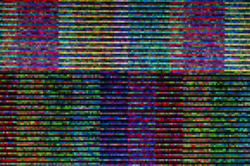 Pixel pattern of a digital glitch / Abstract background, pattern of a digital glitch.