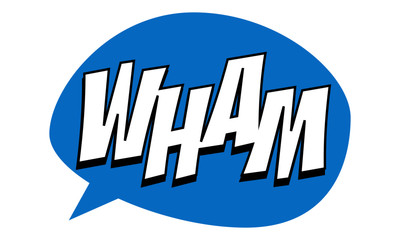 Wham Expression Party props for marriage, bachelor party, house party, event. vector illustration.