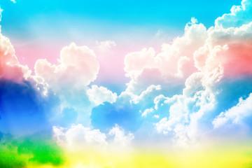 Fotobehang - Beautiful blue sky