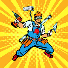 Multi-armed Builder repairman