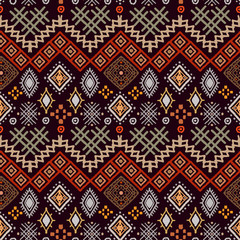 Boho seamless pattern