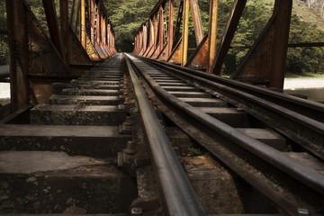 Train Track to Machu Picchu