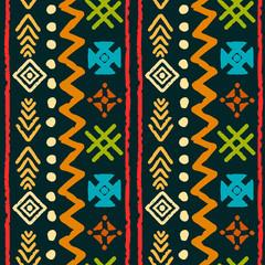 Boho seamless pattern
