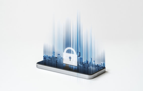 Mobile phone security system and application technology