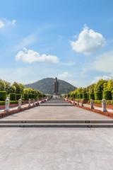 Big Buddha statue Wat Thipsukhontharam temple