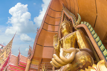Big Buddha statue at Wat Tham Suea temple