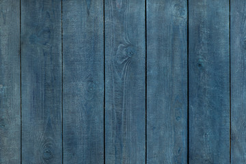 Faded blue wooden background. vertical