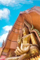 Big Buddha statue at Wat Tham Suea temple