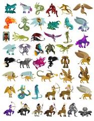 mythology animal fantastic beasts collection