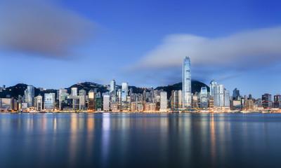 Hong Kong in sunrise