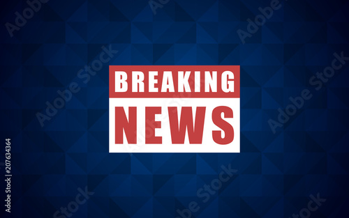 Vector news background, breaking news  Breaking news modern