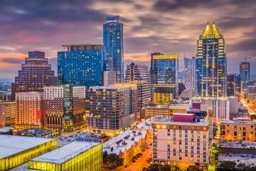 Fototapete - Austin, Texas, USA Cityscape