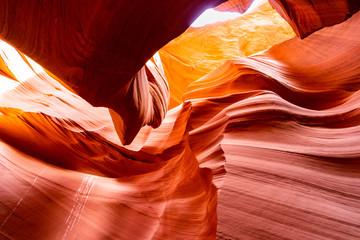 Deurstickers Canyon Lower Antelope Canyon