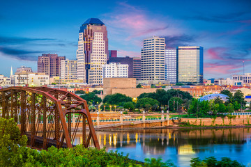 Fototapete - Shreveport, Louisiana, USA Skyline