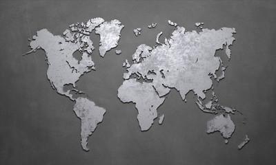 World Map Fototapete