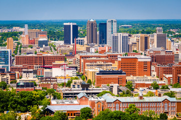 Birmingham, Alabama, USA Skyline