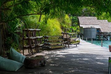 diving resort in the Raja Ampat, Indonesia