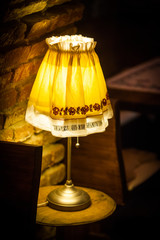 Vintage electric lamp