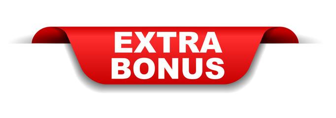 red banner extra bonus