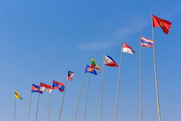 Asian National flag.
