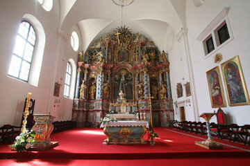 Cathedral of Assumption in Varazdin, Croatia