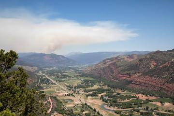 The 416 fire in Durango, Colorado on Saturday June 2nd