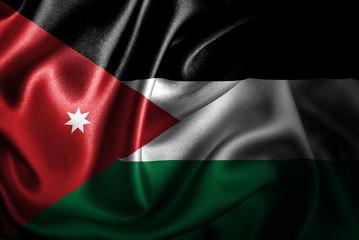 Jordan Silk Satin Flag