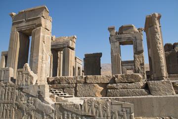 The ancient city Persepolis near Shiraz, Iran.