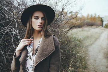 sad mood of autumn