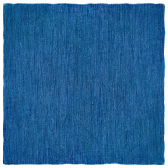 Square denim texture backgrounds isolated.