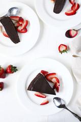 Very chocolate cake.