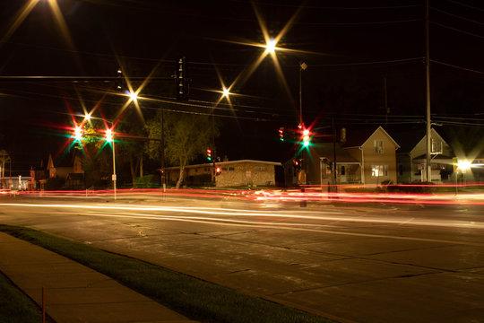 Street Light Trail