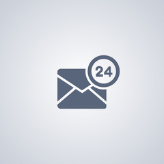 Hour-mail icon