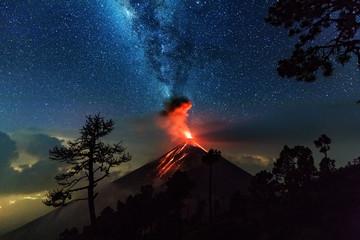 Fuego, Volcano, Guatemala, 21.04.2018