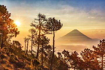Volcano Agua, Guatemala,