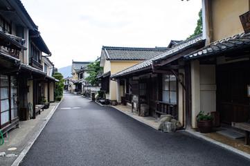 愛媛県内子の町並み