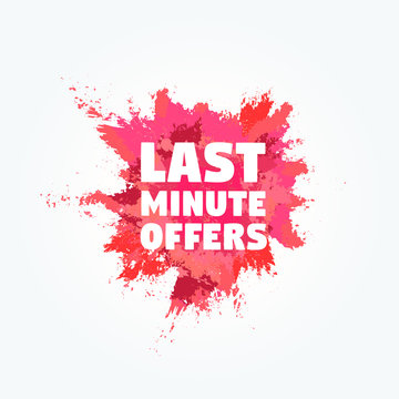 Last Minute Offers Powder Stain Commercial