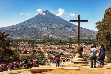 Antigua Guatemala and Volcano Agua, Cerro de la Cruz
