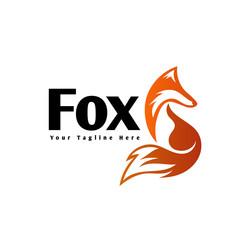 standby fox art logo