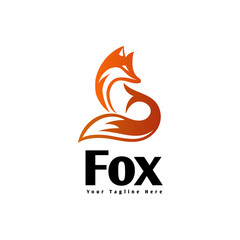 fox shadow art logo