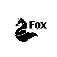 fox art back view logo