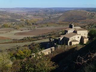 Atienza en Guadalajara. Pueblo historico de Castilla La Mancha (España)